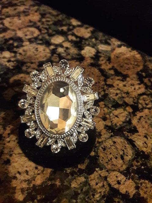 Big Diamond Sparkling Ring