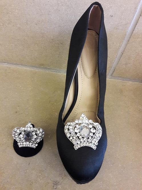 Diamond Crown Shoe Ornament