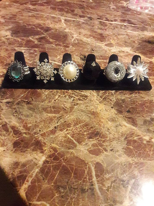 Rings check them out $5-$12 each