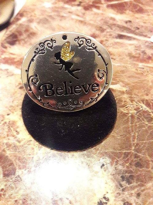 Elegant Accessories Believe Style Ring