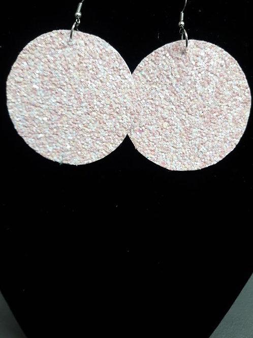 Medium Sandy Pink Earrings