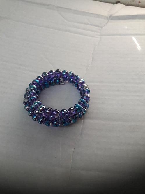 Shining Shimmer Wrapped Bracelet