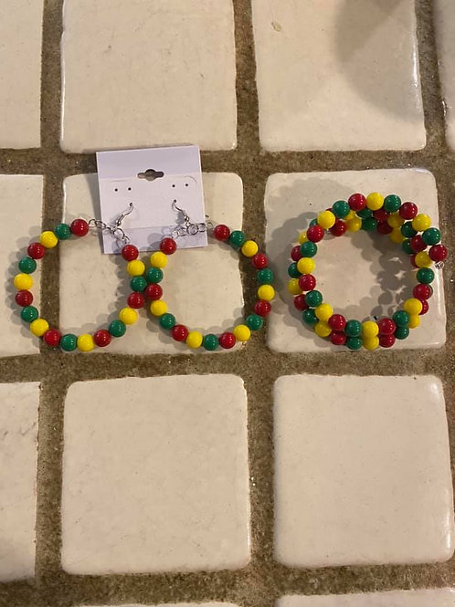 Multi Color Red Green Yellow Heritage Collection