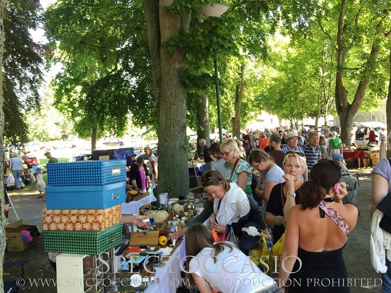 Sydkusten Skåne Simrishamn Loppis fynd antik marknad