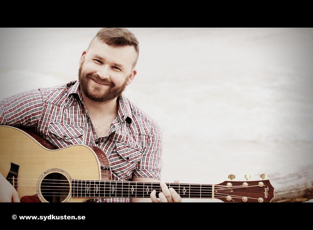 Sydkusten Skåne Vide Geiger musiker bildspel