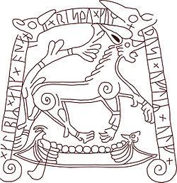 Sydkusten, Skåne, runsten, Tullstorpsstenen, Tullstorp, kyrka, historia, fornminne