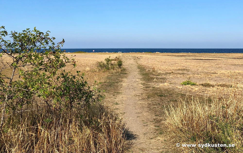 Sydostleden biking Sydkusten Skåne Tobisvik