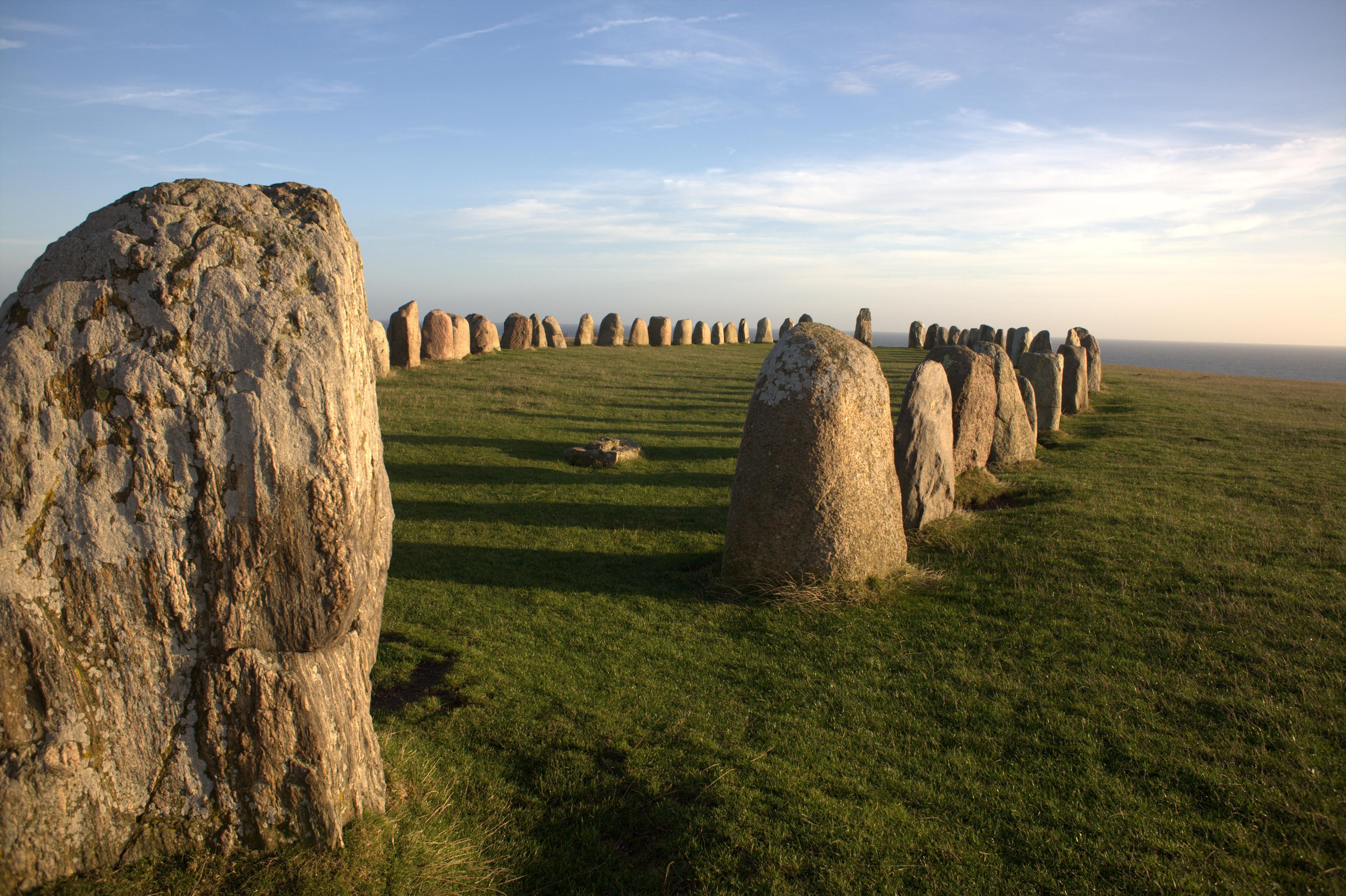 Sydkusten Skåne Ales stenar