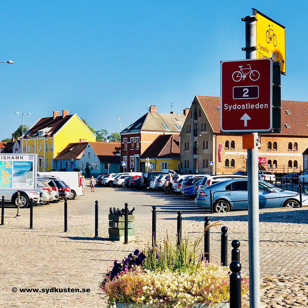 Sydostleden biking Sydkusten Skåne Simrishamn
