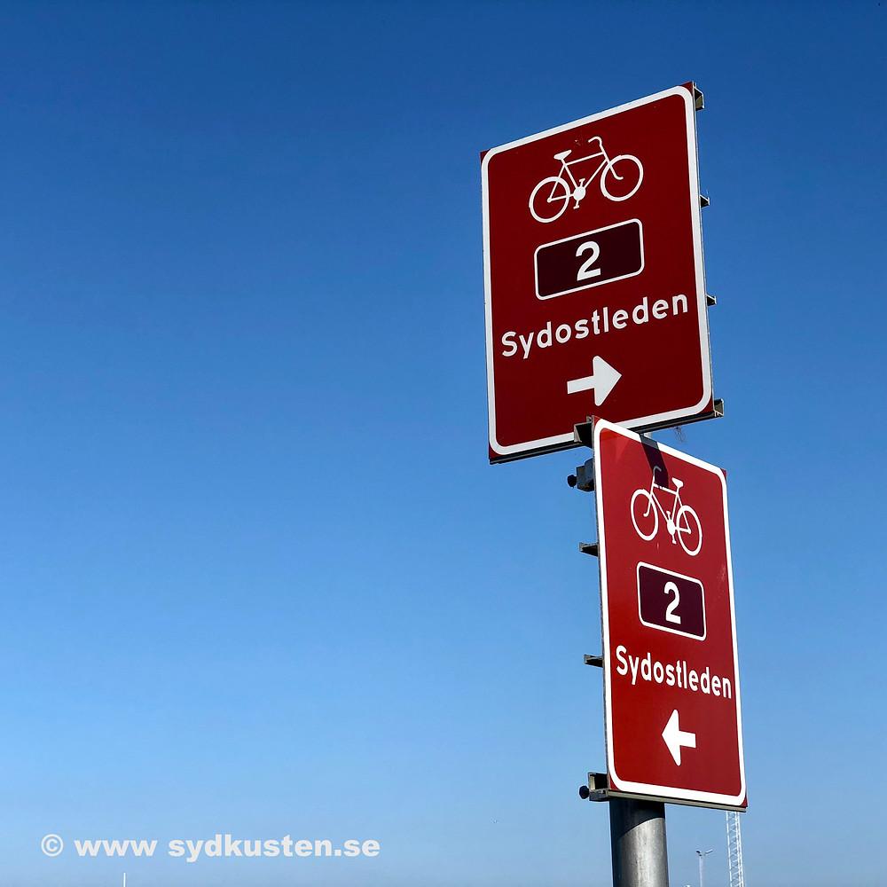 Sydostleden biking Sydkusten Skåne