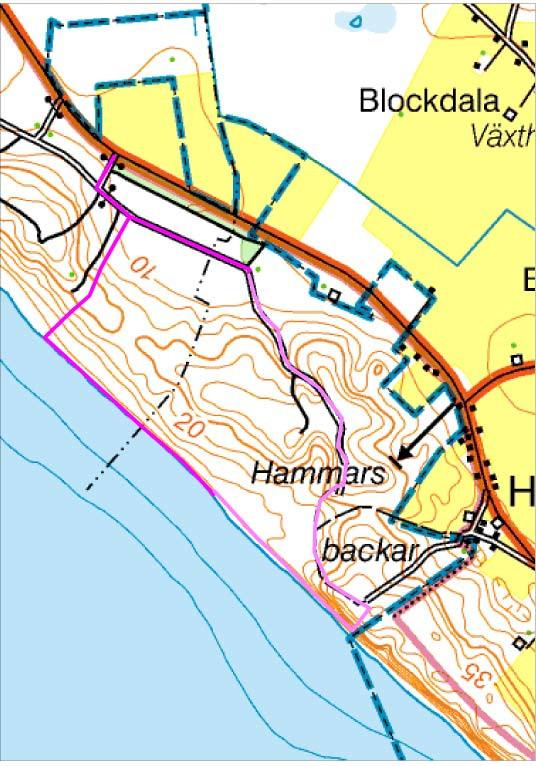 Skåne, Ystad, Hammars backar