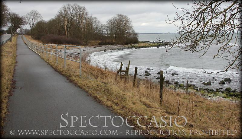 Sydkusten Skåne cykelväg promenera cykla Trelleborg Ystad Svarte Abbekås