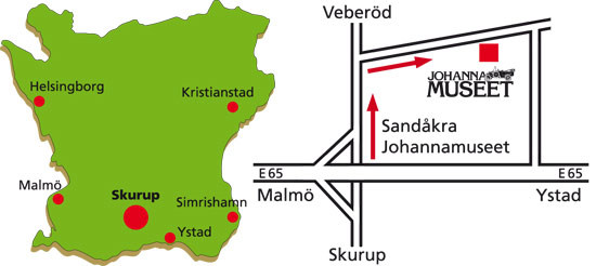 Sydkusten Johannamuseet aktivitet Skurup historia modellbilar