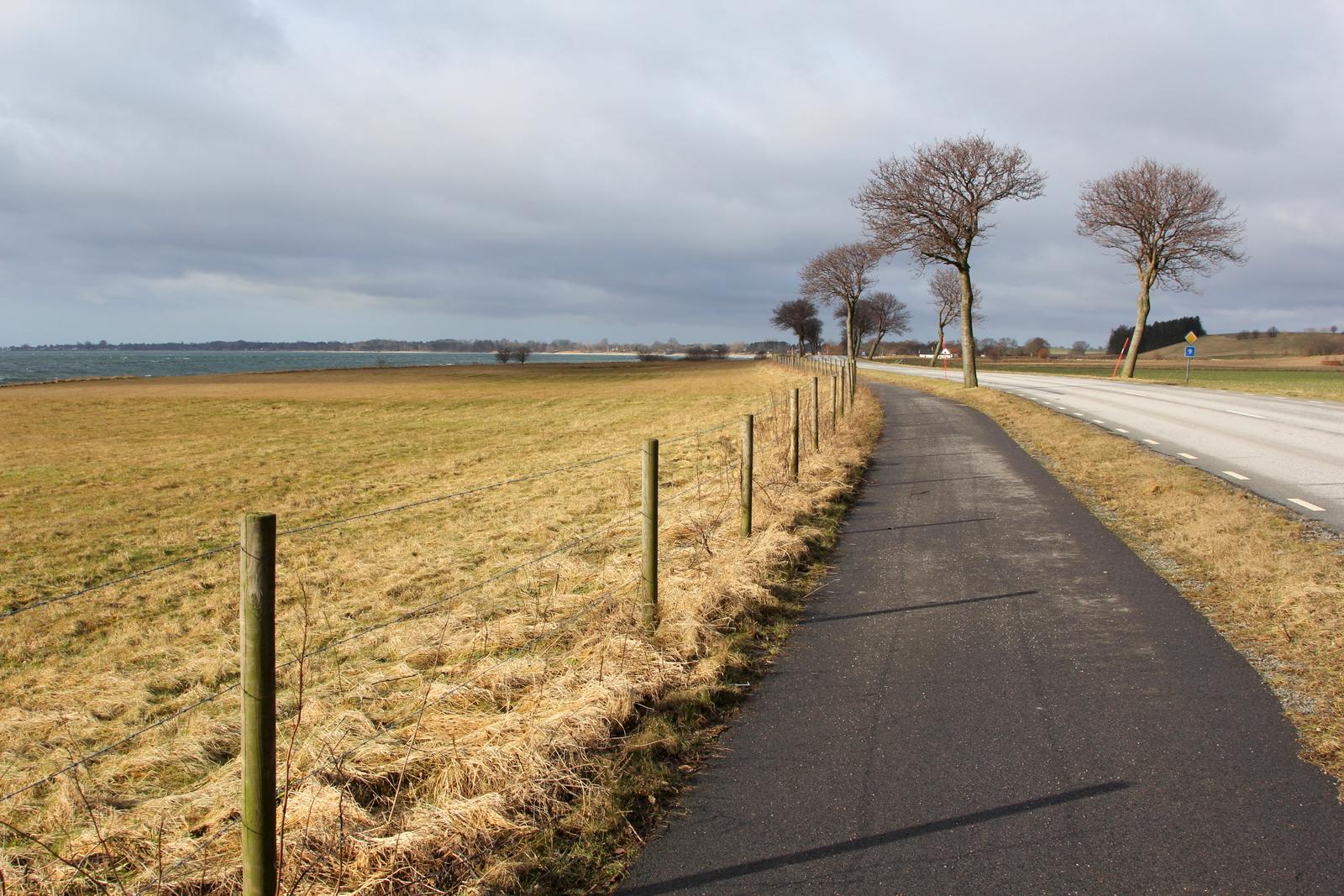 Sydkusten Skåne cykelvägen Ystad