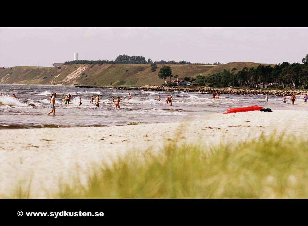 Sydkusten Skåne Hagestad strand