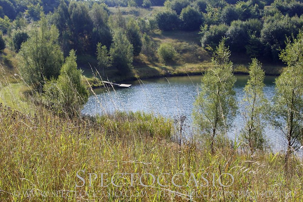 Sydkusten Skåne -  badsjö vid Bjersjöholms naturreservat utanför Ystad