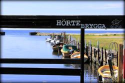 Sydkusten Skåne Hörte Brygga Hamn
