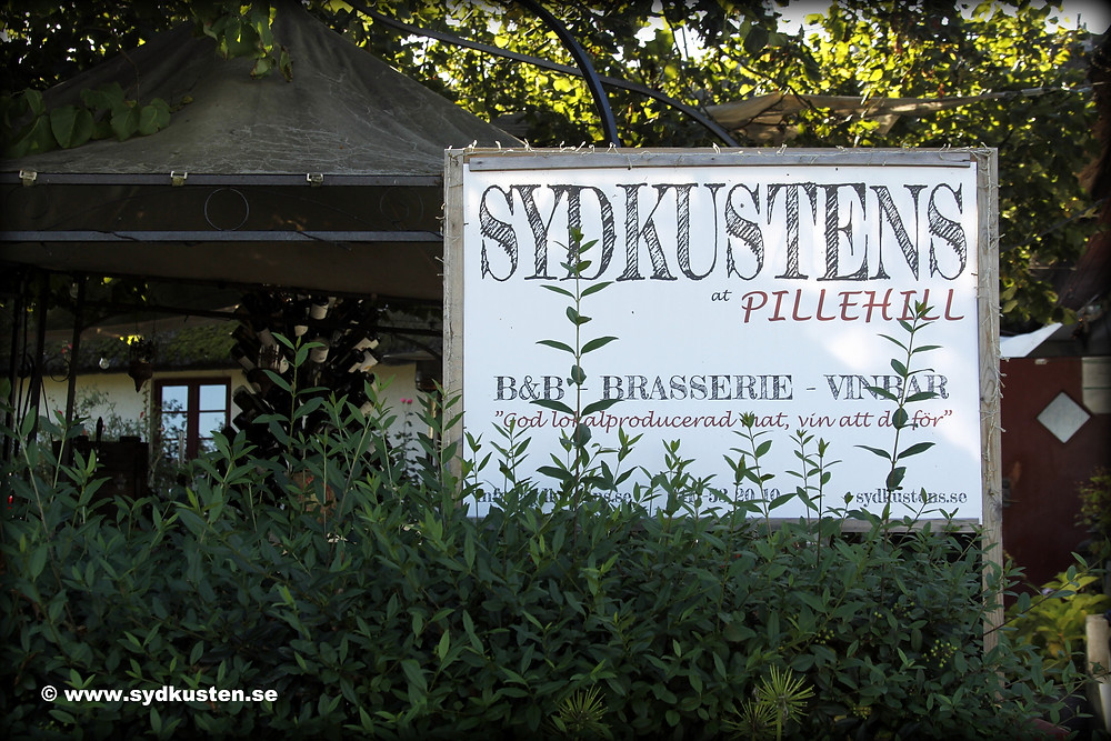 Sydkusten Skåne Sydkustens Pillehill B&B Brasserie Vinbar