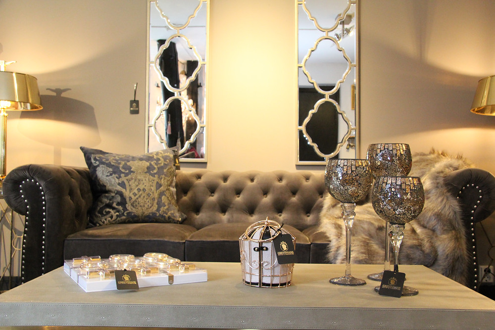 Grevinnans shop interior design showroom Sydkusten