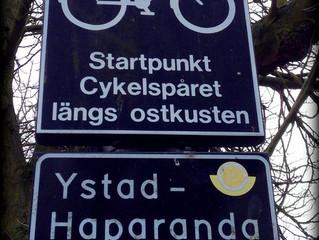 Cykla mellan Ystad och Haparanda