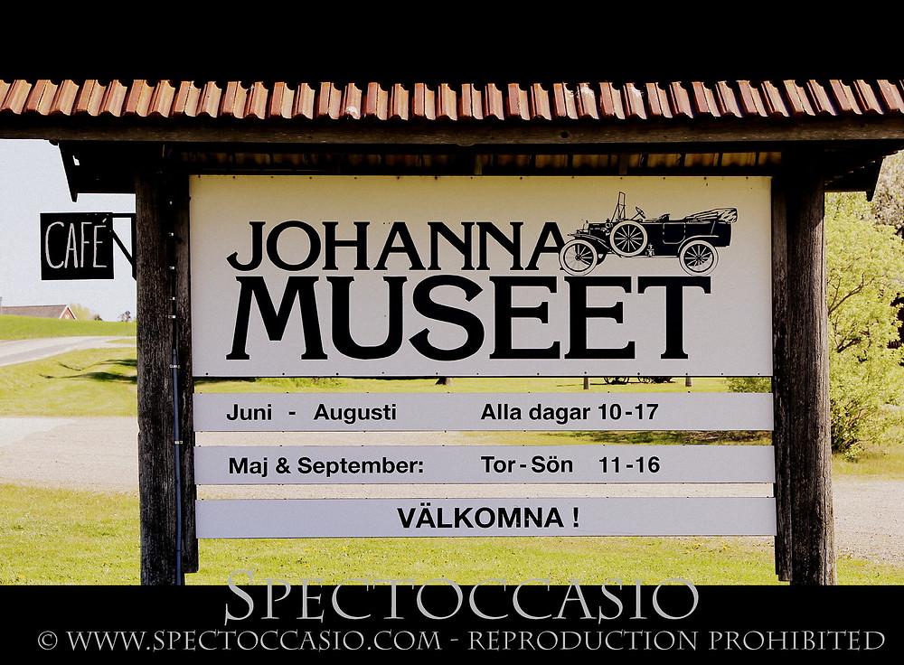Sydkusten Johannamuseet Skurup fordon bilar Route 101