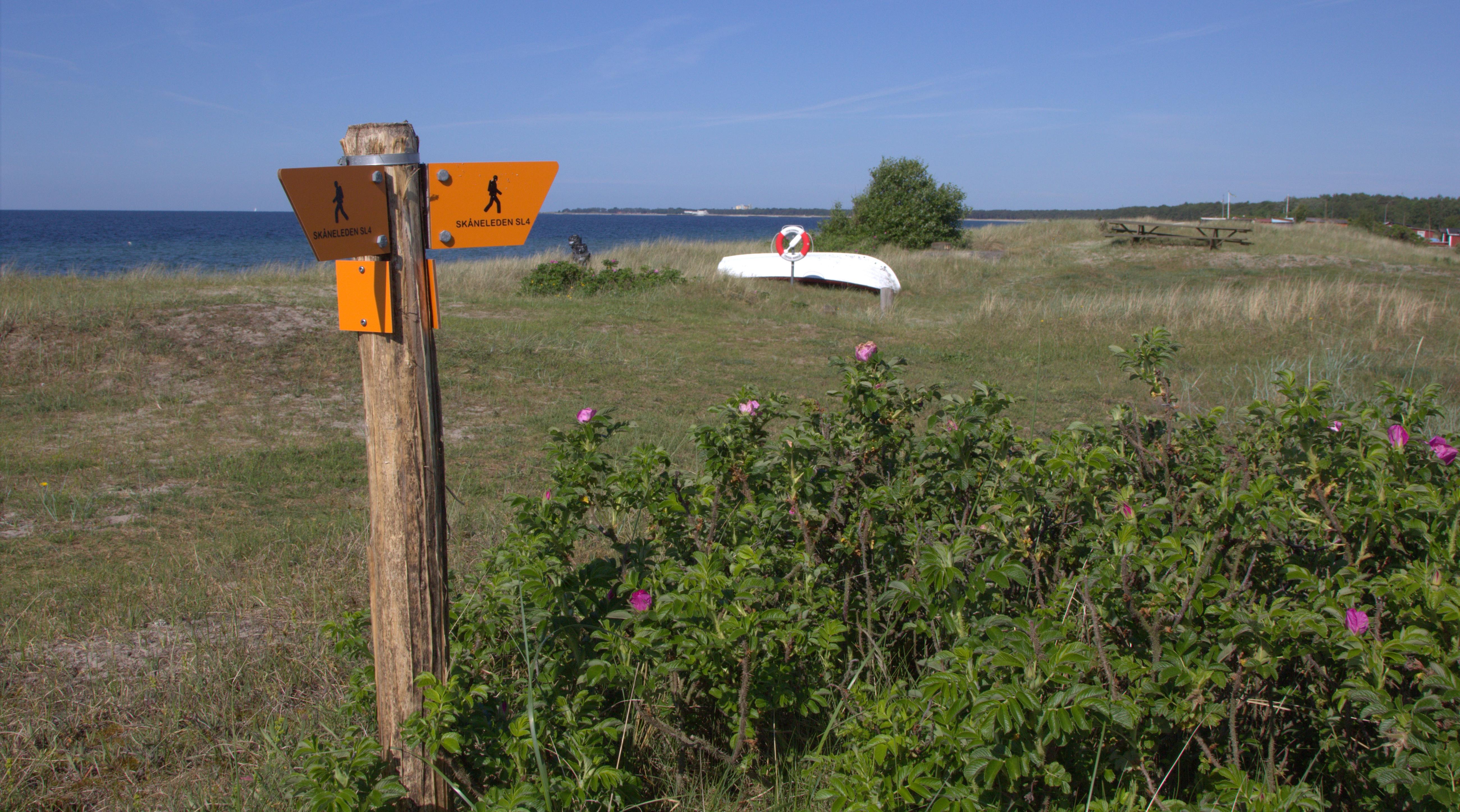 Sydkusten Skåneleden vandra