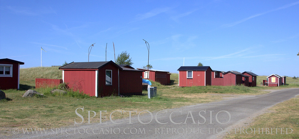 Nybrostrands Camping Ystad Österlen Sydkusten bo strand