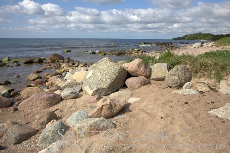 Sydkusten Skåne Spectoccasio Svarte Disas Ting Brygga Strand Fornlämning