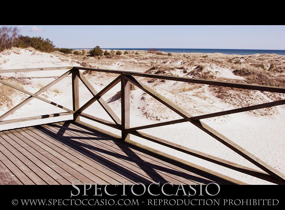 Sandhammaren beach Skåneleden nature reserve Ystad Österlen