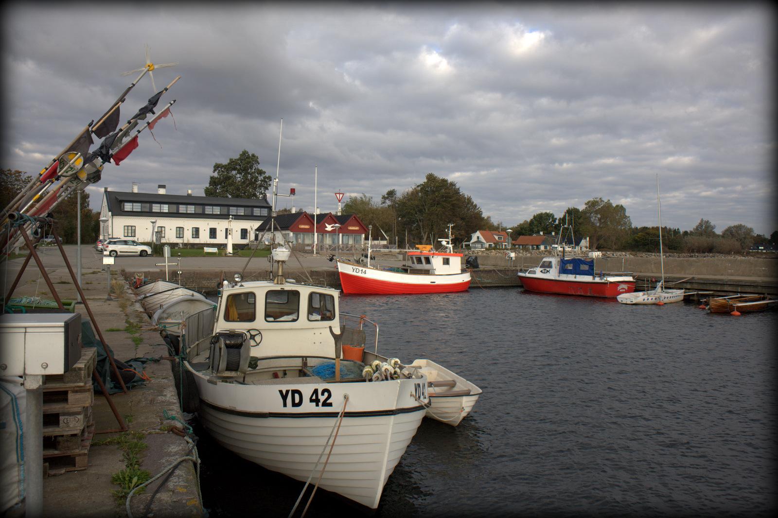 Sydkusten Skåne Abbekås Hamn