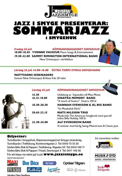 Sydkusten Skåne Mossbystrand Jazz festival