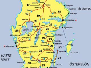 Cykla Sverigeleden på den skånska Sydkusten
