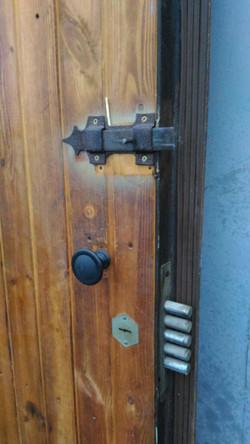 Советское наследие - дверь обшитая