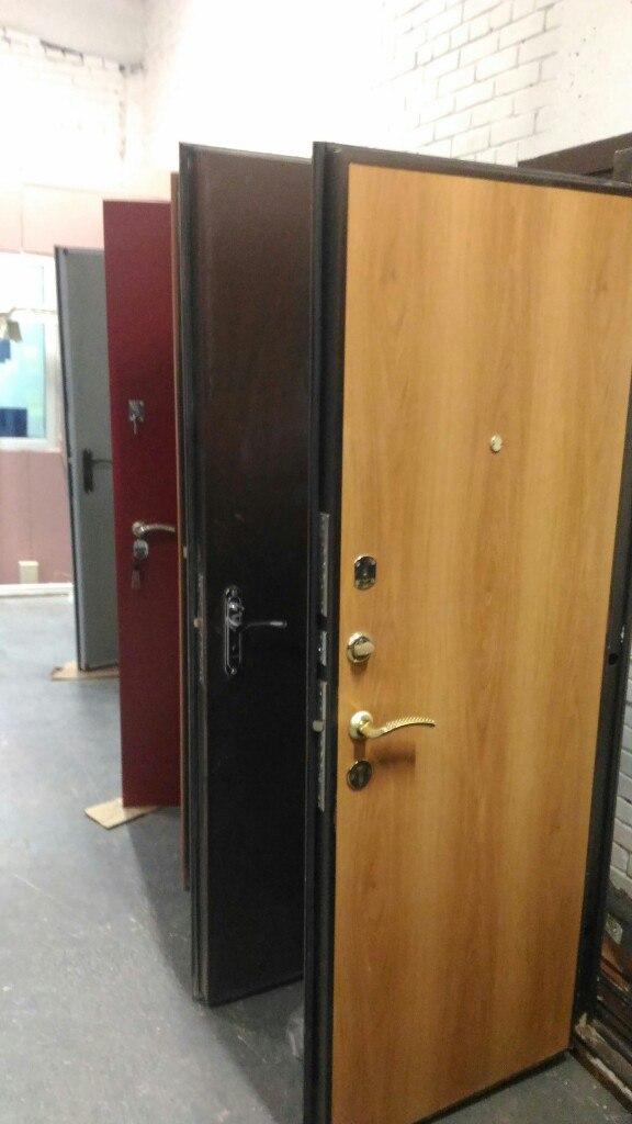 Металлическая дверь утепленная