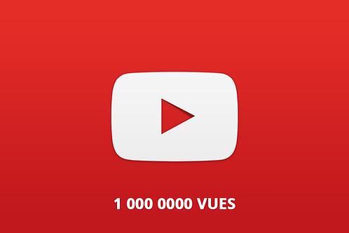 1 000 000 Youtube views