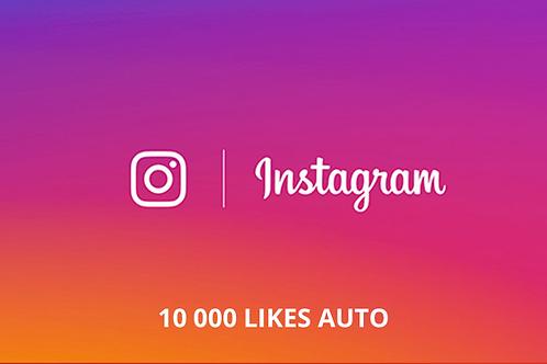 "10 000 ""j'aime"" AUTO Instagram"
