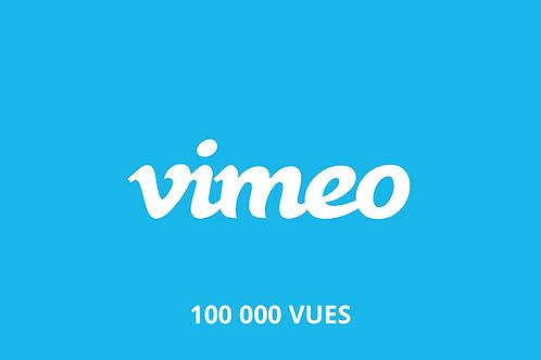 100 000 vues Vimeo