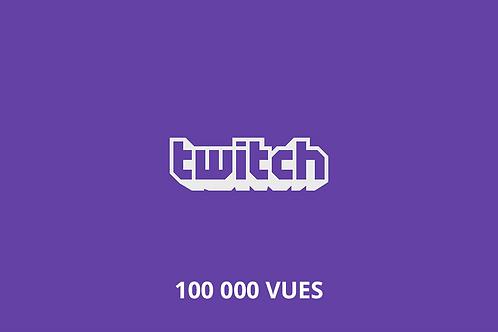 100,000 total Twitch views