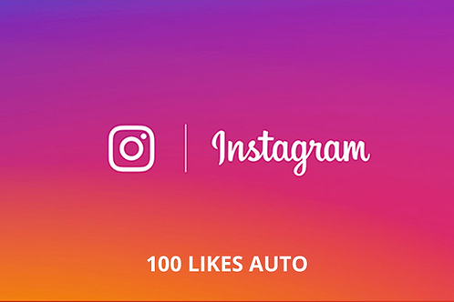 "100 ""j'aime"" AUTO Instagram"