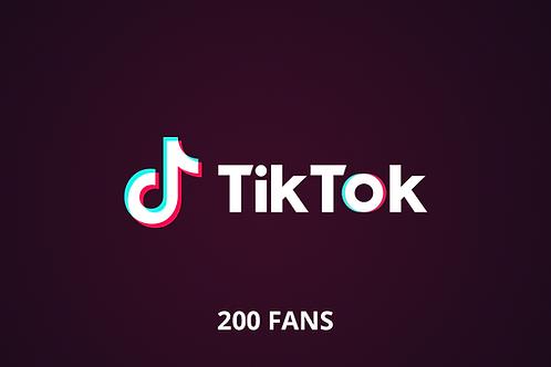 200 fans Tik Tok