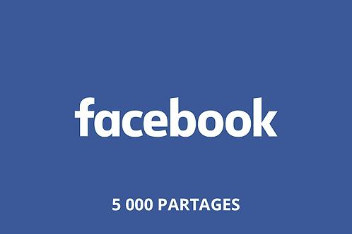 5 000 Partages Facebook