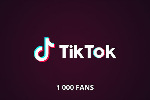 1 000 followers tiktok