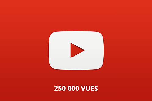 250 000 vues youtube