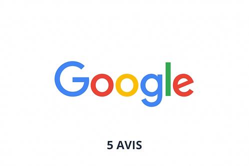 5 avis google