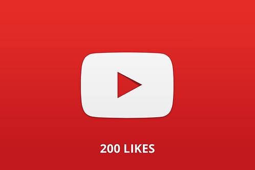 200 likes Youtube