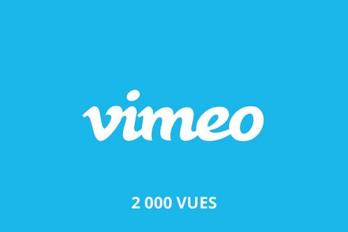 2 000 Vimeo views