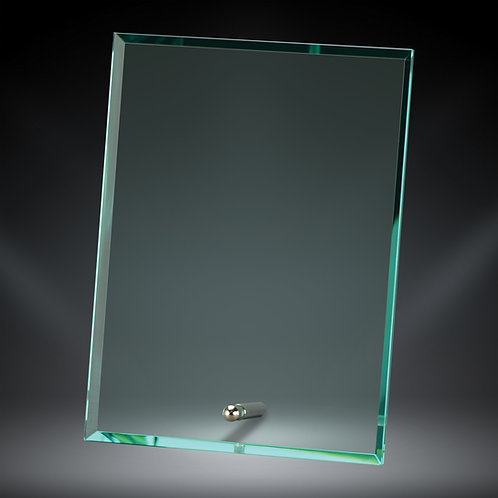 8X6 INCH GLASS WITH METAL STAND