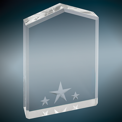 "Pointed Star Acrylic 7"""