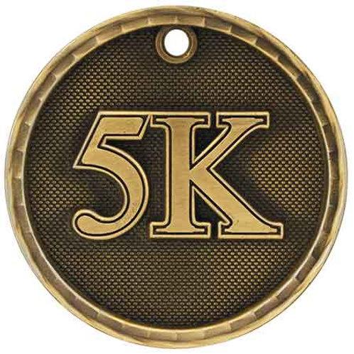 """5k 2"""" medal"""