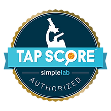 Copy of Authorized Badge Tap Score Gold